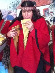 Happy Birthday Pan Pipes in Cusco
