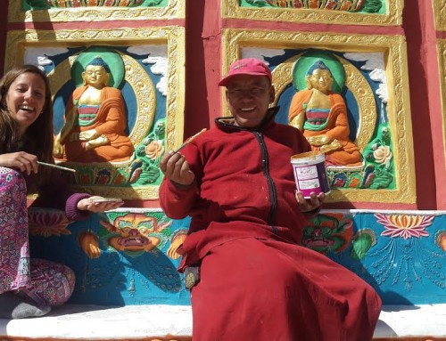 A random and unusual gift travelling through Ladakh in India, with Sheela