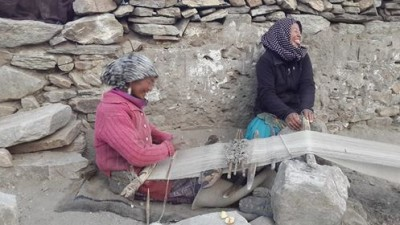 weaving in ladakh